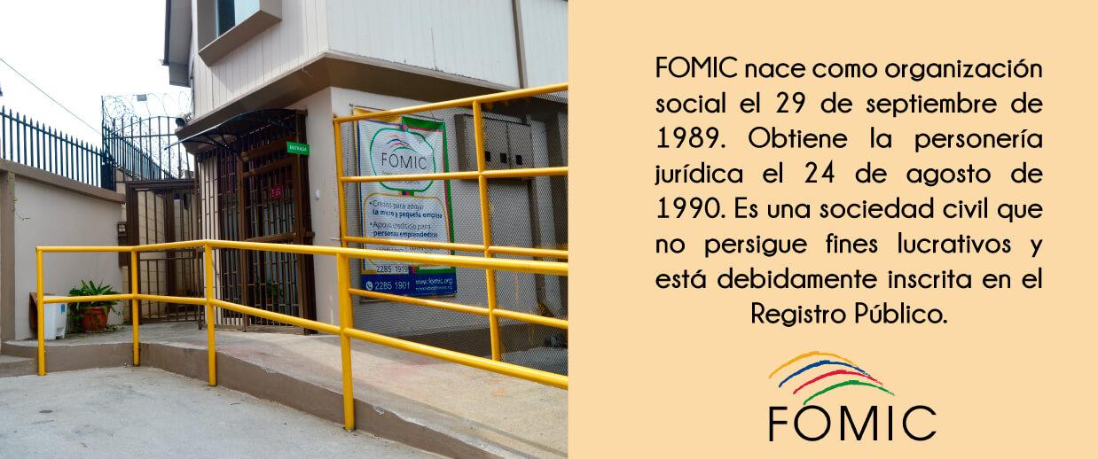 Fomic nace en 1989